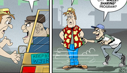 Cartoons and Comics by Brent Brown